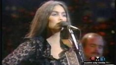 Emmylou Harris - If I Needed You live. Only play it if you are a sensitive person. ----------1982 --------- A Townes Van Zant song. That's Barry Tashian singing the duet vocals. In this  incarnation of The Hot Band, it appears that drummer John Ware is the only original member.