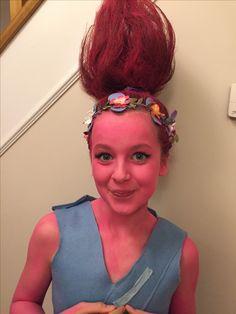 Princess Poppy costume, Trolls Movie
