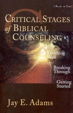 Critical Stages of Biblical Counseling by Jay Edward Adams,http://www.amazon.com/dp/1889032301/ref=cm_sw_r_pi_dp_YrOIsb10ZREVAMJ6