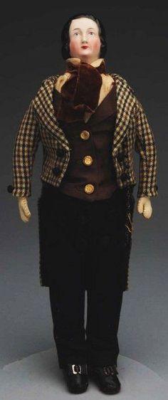 44: Very Desirable Gentleman Doll. : Lot 44