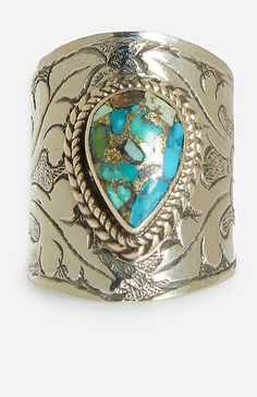 Vanessa Mooney The Empress Ring in Turquoise | DAILYLOOK