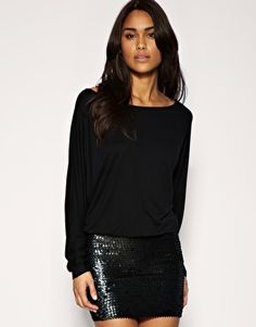 sequin  and easy top. classic for anything.