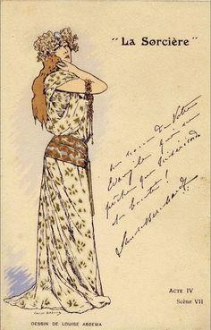 Sarah Bernhardt by Louise Abbéma