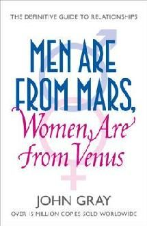 "A link to the book ""Men are From Mars, Women are From Venus""."
