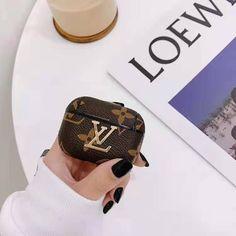 Monogram Damier Luxury Leather Case For Apple AirPods Pro | Casememe Choi Seo Hee, Louis Vuitton Phone Case, Phone Cases Marble, Sneaker Art, Airpods Pro, Cute Cases, Leather Case, Protective Cases, Louis Vuitton Monogram