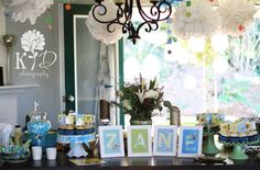 Beautiful baby shower! Photo by, Kristin Dore Photography