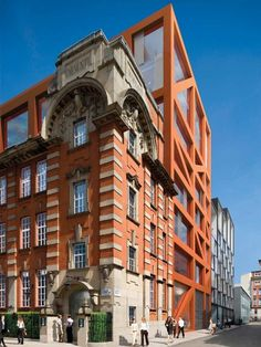 Royal Mail redevelopment by Fletcher Priest Architects