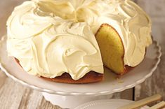 Luscious Lemon Pound Cake recipe