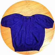 """NWOTExpress mohair knit short sleeve sweater NWOTExpress mohair knit short sleeve royal purple sweater. Beautiful & so soft mohair blend. Loose fitting. Measures approx 25"""" long & 26"""" across chest. Slightly gathered at bottom. Flawless condition. Size medium. Bundle to save 10%!NO TRADES but please use offer button Express Sweaters"""