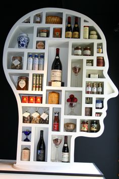 Think about what's going on your skin and in your mouth...Ali Miller head shelves are fantastic