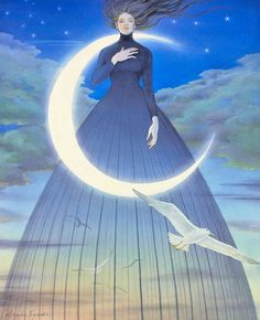 "lohrien: "" Illustrations by Asako Eguchi """