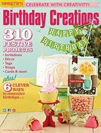 1 Card (p.79) - Paper Crafts Birthday Creations Vol. 3