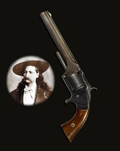 An historic Smith Wesson No. 2 Old Model Army revolver owned by Wild Bill Hickok and carried by him when he was slain by the coward Jack McCall in Deadwood