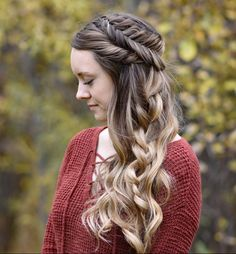 Side Swept Fishtail | Updo | Cute Girls Hairstyles