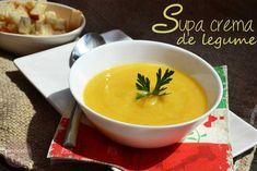 Supa crema de legume - RETETE DUKAN Fondue, Cheese, Ethnic Recipes, Dukan Diet