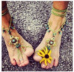 #Witcherywishlist Flower child, its like being bare foot and wearing shoes all at the same time!