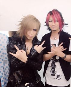 Masa with Ikuo from Bull Zeichen 88- Two very cute and hott men!!!!!