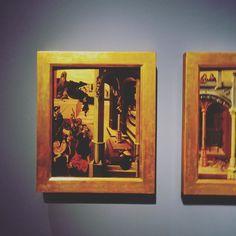 SCENE DEL MARTIRIO DI SAN GIUDA TADDEO (SAN GIUDA TADDEO PERCOSSO E IMPRIGIONATO; SAN GIUDA TADDEO COSTRETTO AD ADORARE IDOLI) Mair von Landshut (attivo principalmente in Baviera tra XV e XVI secolo) (a destra) . . . . . #gallerieditalia #restituzioni2016 #restituzioni #milano #art #mostra #exhibition #milanodavedere #milan #igersitalia #labellezzaritrovata #italy #arte #museum #intesasanpaolo #igers #visiting #sonydschx60 #sony #read #photo #milanoeterna #like4like #instalike #instagram…