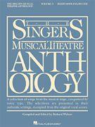 Singer's Musical Theatre Anthology  - Mezzo-Soprano/Belt Voice - Volume 3