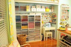 Enviously Organized: Inspiring Craft Rooms
