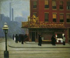 Edward Hopper - New York Corner (Corner Saloon)