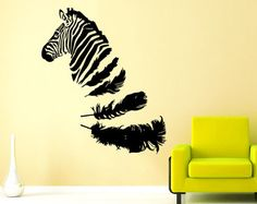 Wall Decal Yin Yang Koi Fish Geometric Chinese by SuperVinylDecal
