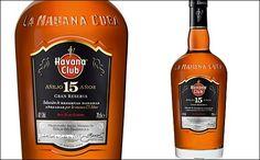 New look bottle for Havana Club 15YO