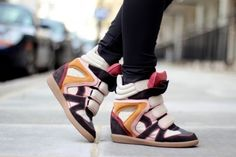 Top 4 Winter Shoe Trends: from Wedge Sneakers to Two-tone Oxfords