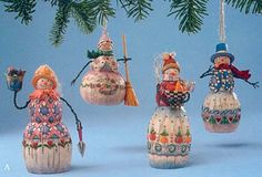 jim shore snowmen ornament