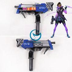 Overwatch OW Sombra ░░░░░░ Gun Cosplay Weapon Prop  #overwatch #sombra #cosplayweapon #prop
