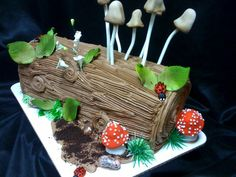 Birthday Cake Enchanted Forest
