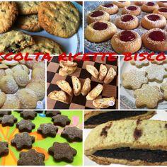 Ecco una raccolta di ricette per realizzare biscotti deliziosi, facili e veloci. Troverete biscotti con la farina normale, di riso, di farro e di kamut e ancora con le mandorle, bacche di goji, frutt