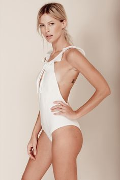 Belize One Piece in Ivory