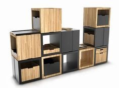 Seat, Shelf or Storage: B_Cube Modular Furniture Lets You Decide & Mix It Up