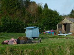 Et voici le jardinier bien épuisé en ce mois de février. Une journée ensoleillée à ne pas oublier !