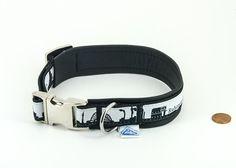 "Leder Halsband ""Ruhrpott"" mittel | #Hundehalsband #Ruhrpott | Direktlink zum Shop: http://www.dog-smilla.de/produkt/leder-halsband-ruhrpott/"