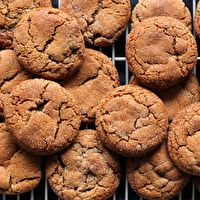 Gluten Free Molasses Cookies by What's Gaby Cooking