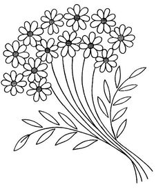 free vintage embroidery pattern: