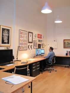 Title Case, the collaborative workspace of Erik Marinovich & Jessica Hische | by Amy Campos