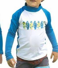 Boys 14 Long Sleeve Rash Guard Stretch Shirt UPF50 UV Sun Protection Blue Swim   eBay
