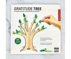 Gratitude Tree - Silver in the City Silver In The City, Orange Leaf, Holiday Lights, New Leaf, Inspirational Gifts, Mindful, Gratitude, Grateful, Writing