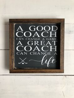 Coach gift -free shipping- coach gift ideas - hockey coach gift - unique coach gift - hockey gift by KTInspiredHome on Etsy https://www.etsy.com/ca/listing/586517584/coach-gift-free-shipping-coach-gift