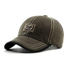 ba4c56d08a4 Mens Unisex Cotton Baseball Cap Outdoor Casual Sunscreen Visor Snapback Hats