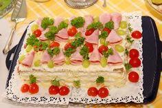Brazil Food, Sandwiches, Salad Bar, Vanilla Cake, Cheesecake, Food And Drink, Favorite Recipes, Chocolate, Desserts