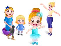 Play free online game Baby Hazel Ballerina Dance on babyhazelgames.com. We have many Baby Hazel Learning Games such as, Baby Hazel Dining Manners, Baby Hazel In Preschool, Baby Hazel Learns Shapes and much more.