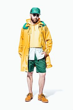 Engineered Garments Spring 2018 Menswear Fashion Show Collection