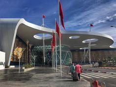 Absolutely love Marrakech Airport  (blog post next week)  Taken on: iPhone 6s Plus    #travel #holiday #tbloggers #photograph #photography #photographer #airport #lbloggers #northafrica #africa #love #wintersun #lifeloveflowers #wordpressblogger #blogger