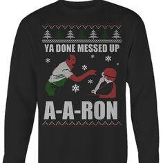 YA DONE MESSED UP A-A-RON. Are you a fan of Key & Peele? Then this is for you. Perfect gift this coming Christmas.