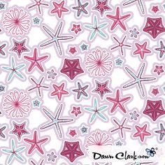 Starfish, by Dawn Clarkson http://niceandfancy.blogspot.it