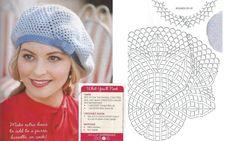 Châles et bonnets au crochet : modèles et grilles à imprimer !